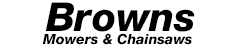 Browns Mowers and Chainsaws Logo